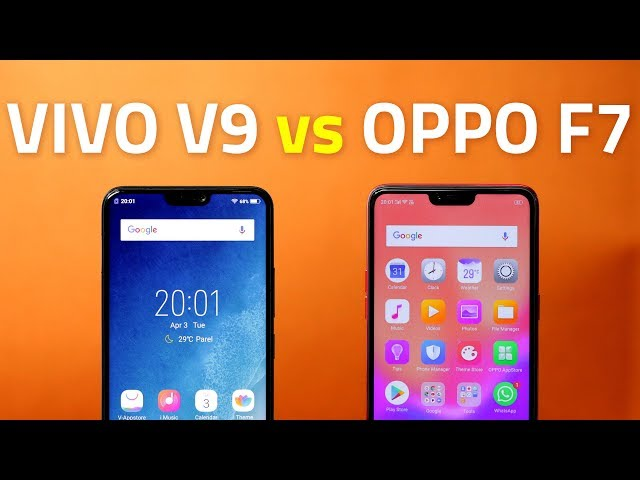 Vivo V9 vs Oppo F7: Which One Is a 'Notch' Above the Other? | NDTV