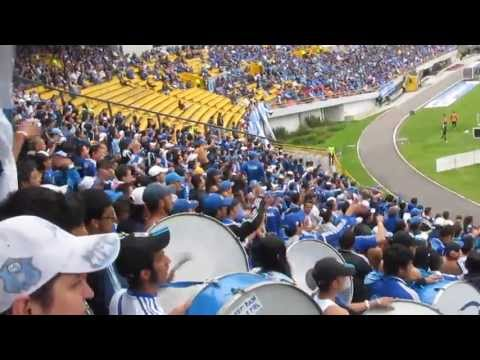 """""""BLUE RAIN - VAMOS VAMOS LOS MILLOS"""" Barra: Blue Rain • Club: Millonarios"""