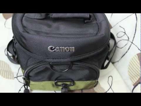 [Review] Canon 100EG Kameratasche GERMAN FULL HD