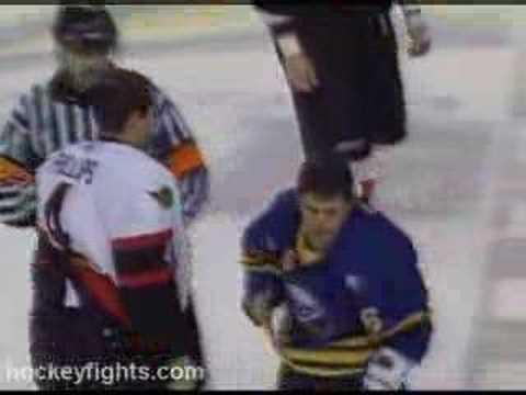 Ray Emery vs Martin Biron