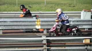 preview picture of video 'HDRL Moped Sprinter Race @ The Hilo Drag Strip'