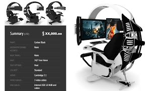 The Ultimate Gaming Chair for $10,000 - Video Youtube