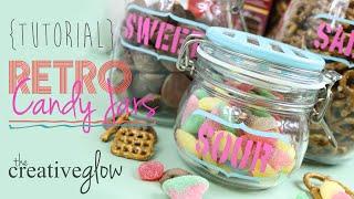 Candy Jars Tutorial - Retro Look