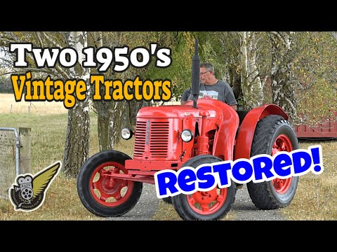 How We Saved TWO David Brown Cropmaster Vintage Tractors