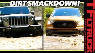 Can the New Ford Ranger Keep Up with the New Jeep Gladiator Off-Road? The Results Are Surprising!