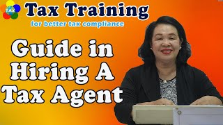 Guide in Hiring A Tax Agent