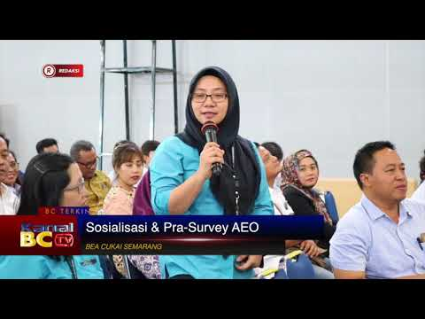 [Redaksi] Sosialisasi & Pra-Survey AEO