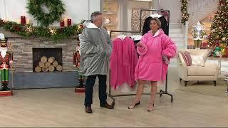 The Comfy Original Oversized Blanket Sweatshirt on QVC