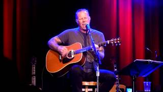"""James Hetfield performing """"Until It Sleeps"""" Acoustic - 4 - A - Cure live @ the Fillmore 5/15/2014"""