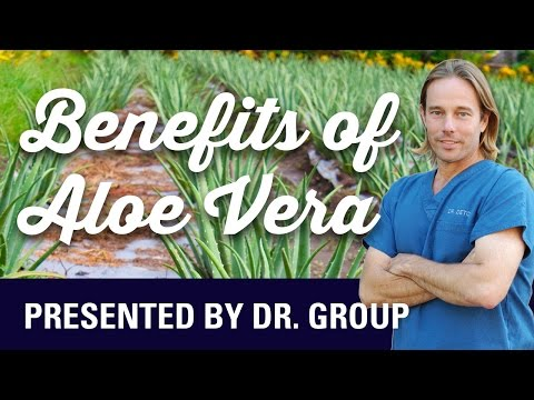 Video The Benefits of Aloe Vera - The First Aid Plant!