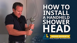 How To Install a Handheld Shower Head