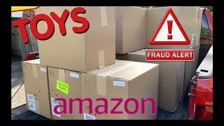 I bought a $3,517 Amazon Customer Returns TOYS & LEGO Pallet + CUSTOMER RETURN SCAM AGAIN