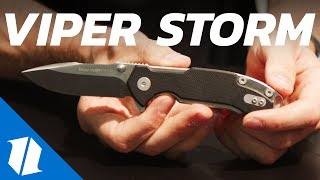 NEW Rick Hinderer Knife From Viper | Blade Show 2017