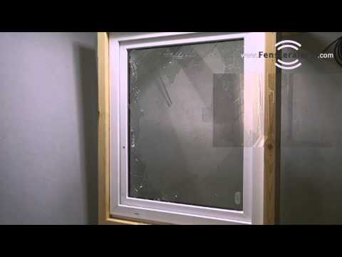 Demonstration Einbruch mit Glasbruchmelder