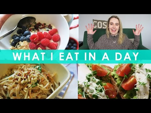 Video What I Eat In A Day (Gluten Free, Dairy Free & mainly Vegan!) Healthy Recipes #2