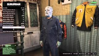 GTA 5 outfits Fredy Krueger, Frankenstein, and Leatherface: Horror Mondays  #6