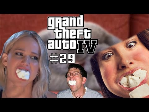 CHUBBY BUNNY | Grand Theft Auto 4 | Part 29 | SK Let's Play | George