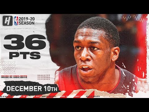 Kendrick Nunn 36 Pts Full Highlights | Hawks vs Heat | December 10, 2019