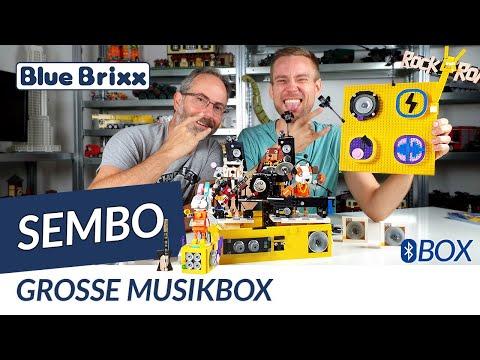 Big Music Box with Bluetooth Speaker