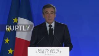 France: Fillon backs Macron after conceding defeat in presidential race