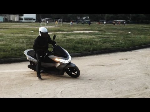 Honda PCX150 (2014) Ground-Test Ride