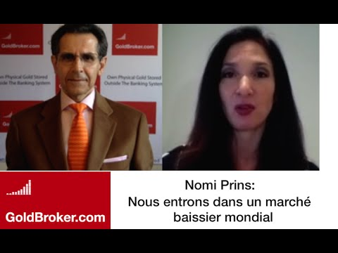 Nomi Prins: Banques centrales en panique?, L'or et l'interdiction du cash