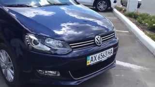 Установка омывателей фар+датчика уровня в бачке с омывающей жидкостью в VW Polo sedan.