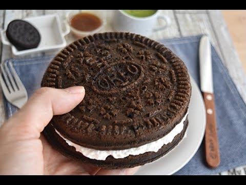 Oreo waffle recipe  オレオの約10倍?【オレオワッフル】作り方