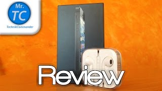 preview picture of video 'Apple EarPods Review HD (Deutsch/German) - MrTechCommander'