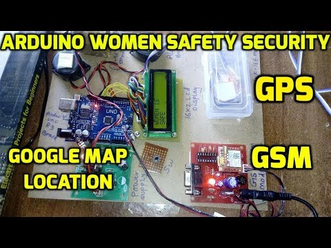 Arduino Based Women Safety Security System Using Gsm And Gps Modem Mp3