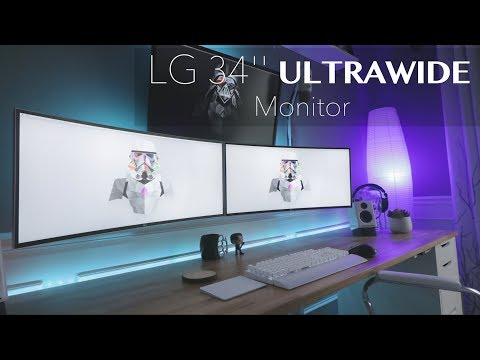 34 inches of Curved Awesome (Best Ultrawide Monitor) – LG 34″ Curved ULTRAWIDE Monitor Review