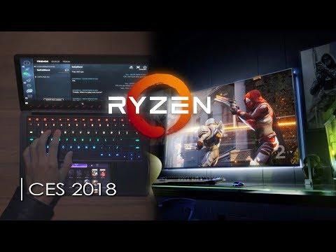CES2018 # AMD Ryzen 2 a ďalšie novinky