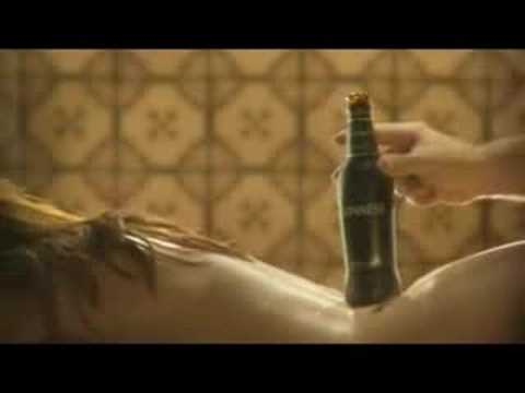 Hot girl guiness beer ad