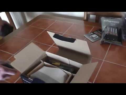Panasonic Lumix LZ20. Unpacking