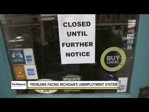 The Rebound Detroit: Problems facing Michigan's unemployment system