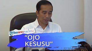 Siap Mengarahkan Sikap Relawannya saat Pilpres 2024, Jokowi: Ojo Kesusu