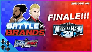 Battle of the Brands #66: WRESTLEMANIA 21 – THE FINALE – UpUpDownDown Plays