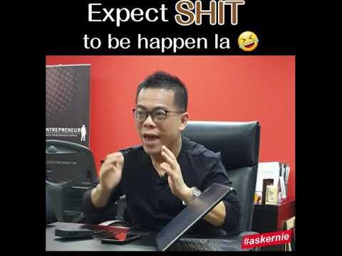 Expect SHIT to be happen la