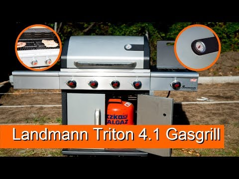 Landmann Triton 4.1 Gasgrill Vorstellung / Review - 4k