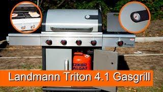 Landmann Triton 4.1 Gasgrill Vorstellung / Review - 4k