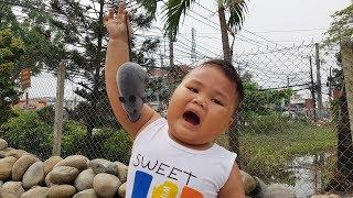 Trò Chơi Bé Vui Hang Động Bất Ngờ ❤ ChiChi ToysReview TV ❤ Đồ Chơi Trẻ Em Baby Fun Song Bài Hát Vần