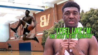 Kyree Walker Summer Workout Turns Into DUNK CONTEST PRACTICE - Training With JuliusVElite