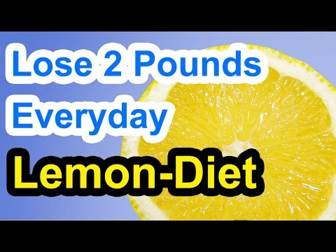 Video How to Lose 2 Pounds a Day with the Lemon Diet