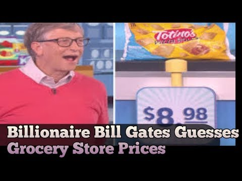 Billionaire Bill Gates Guesses Grocery Store Prices    Bill Gates   Ellen   Krikasi Insight Media