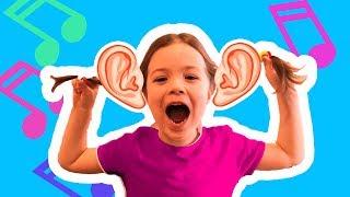 Шепот ютубера Челленж. Развлечение для детей Веселая Игра Whisper Challenge ///Like Mary\\\