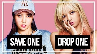 SAVE ONE, DROP ONE (FEMALE IDOLS: HARDEST EDITION)
