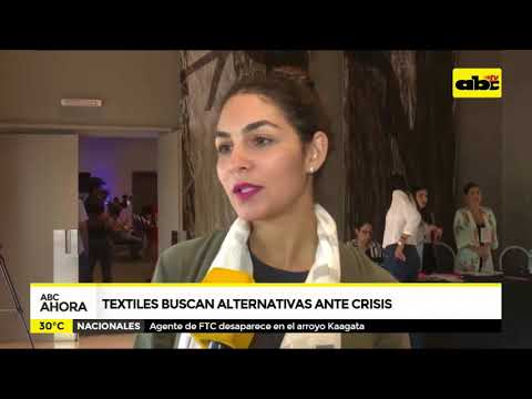 Textiles buscan alternativas ante crisis