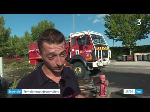 Incendie du Var : Les pompiers témoignent