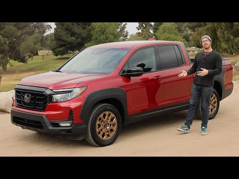 2021 Honda Ridgeline Test Drive Video Review