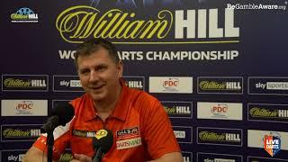 """Krzysztof Ratajski on whitewashing Whitlock: """"We were very nervous – Simon missed so many doubles"""""""